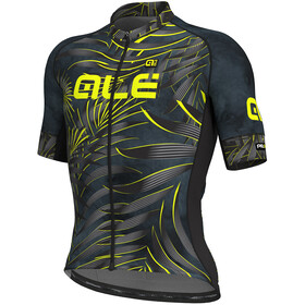 Alé Cycling Graphics PRR Sunset SS Jersey Men black-yellow flou